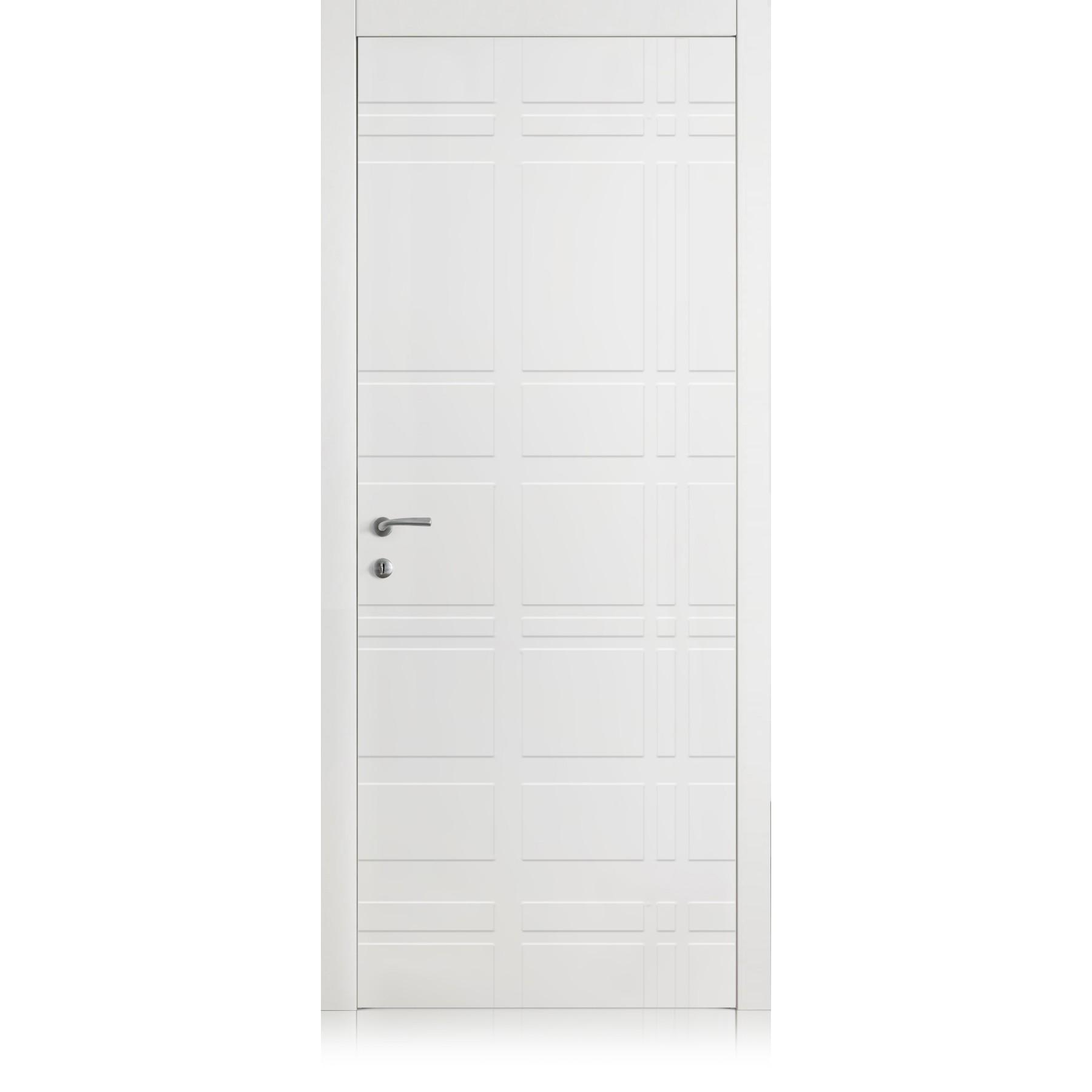 Yncisa Tartan bianco optical door