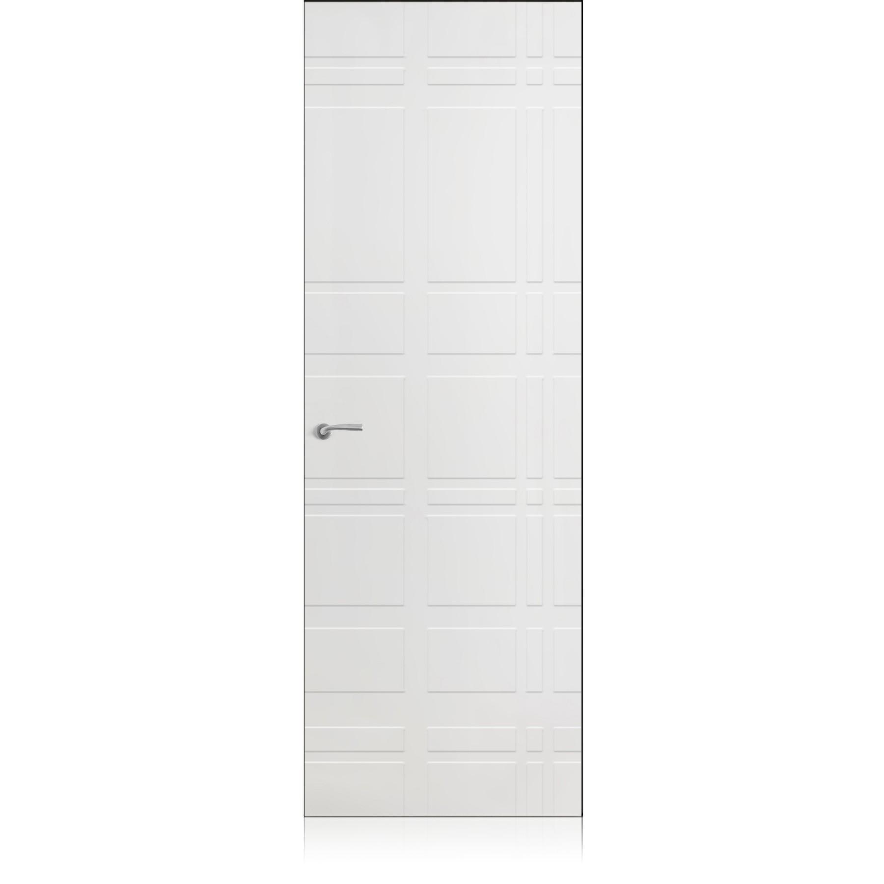 Yncisa Tartan Zero bianco optical door