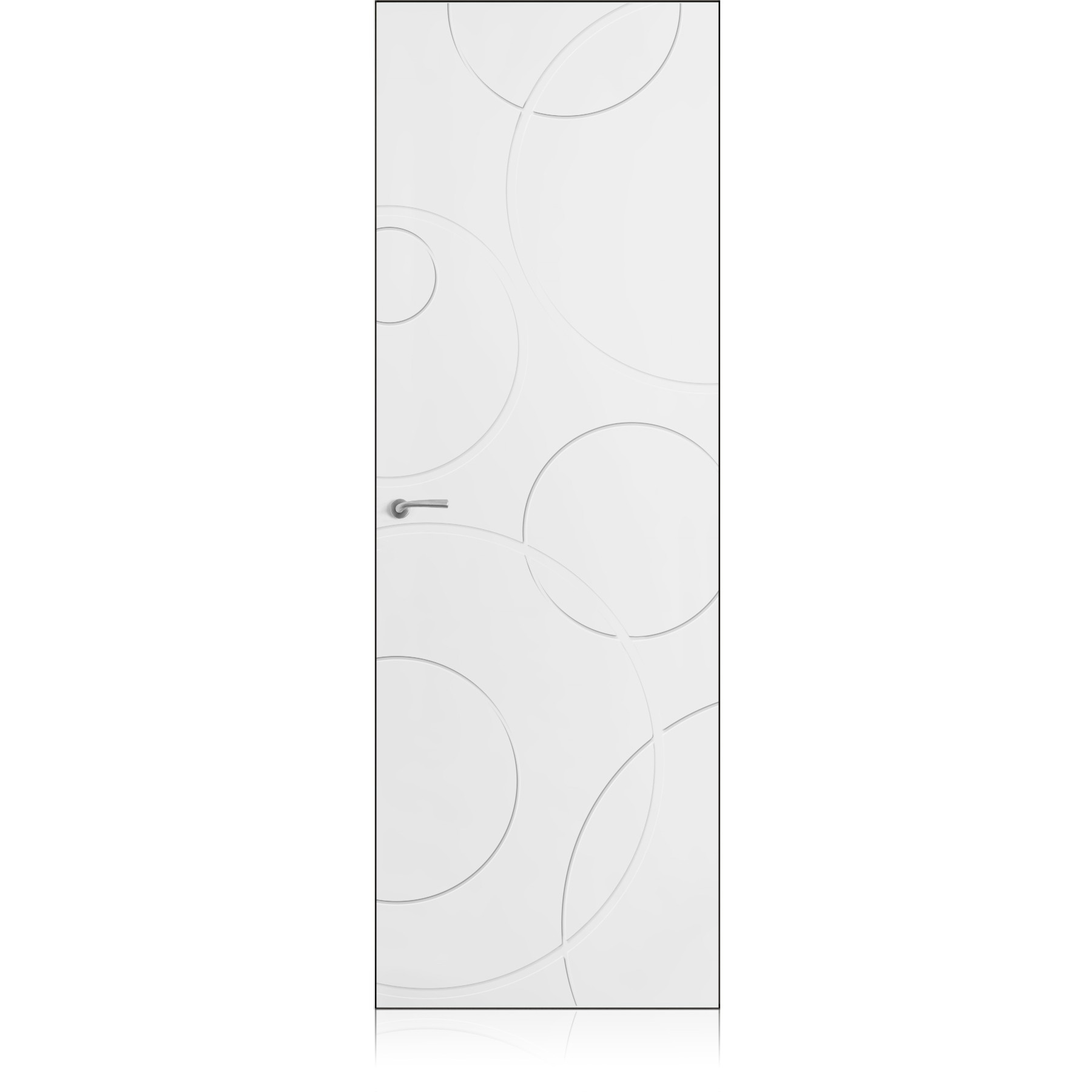 Yncisa/0 Zero bianco optical door