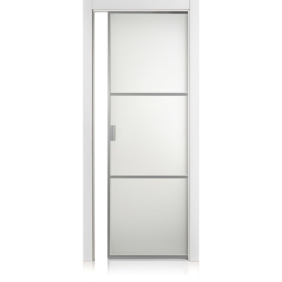 Porta Cristal Frame / 2 bianco optical