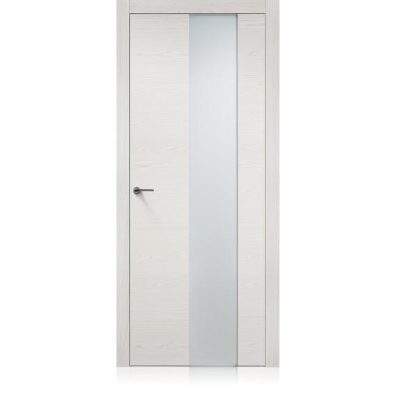 Porta Exit vetro Iride Bianco
