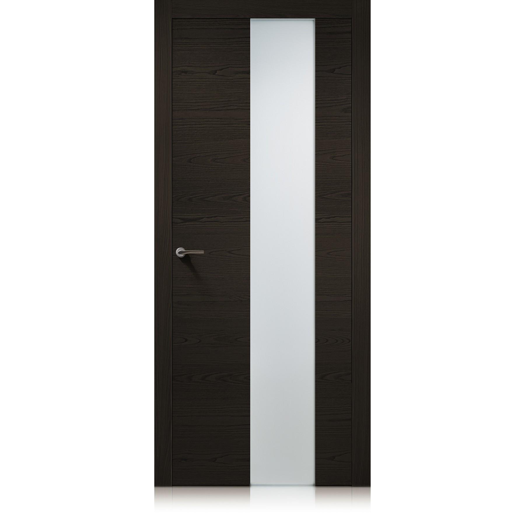 Porta Exit vetro Iride Ebano