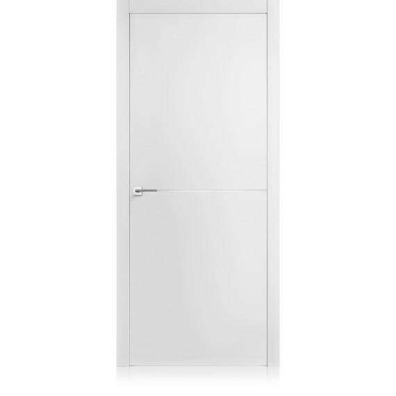 Porta Equa / 1 Bianco Optical Laccato ULTRAopaco