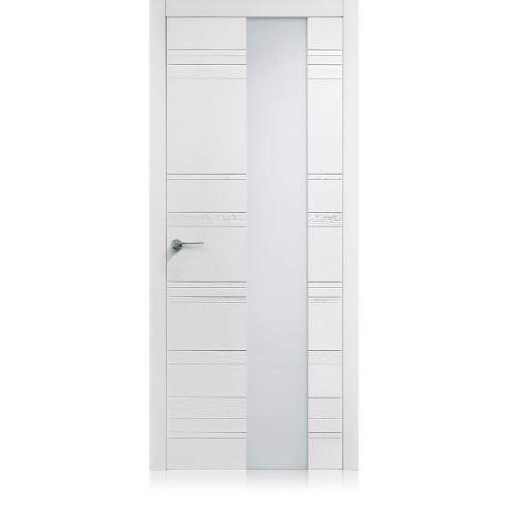 Porta Equa Styla Vetro Bianco Laccato ULTRAopaco