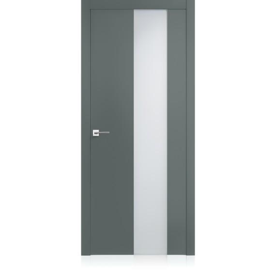 Porta Equa vetro Metallo Pure Laccato ULTRAopaco