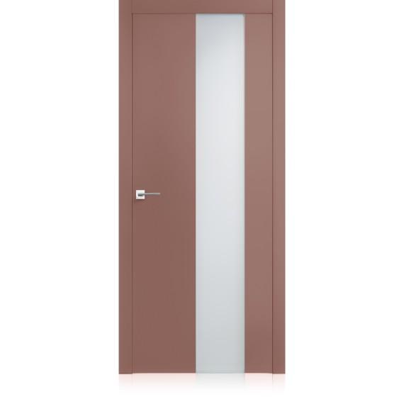 Porta Equa vetro Malva Light Laccato ULTRAopaco