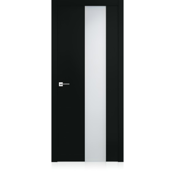 Porte Equa vetro Nero Profondo Laccato ULTRAopaco