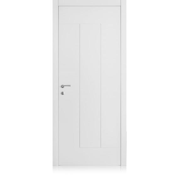 Porta Yncisa / 8 Bianco Laccato ULTRAopaco