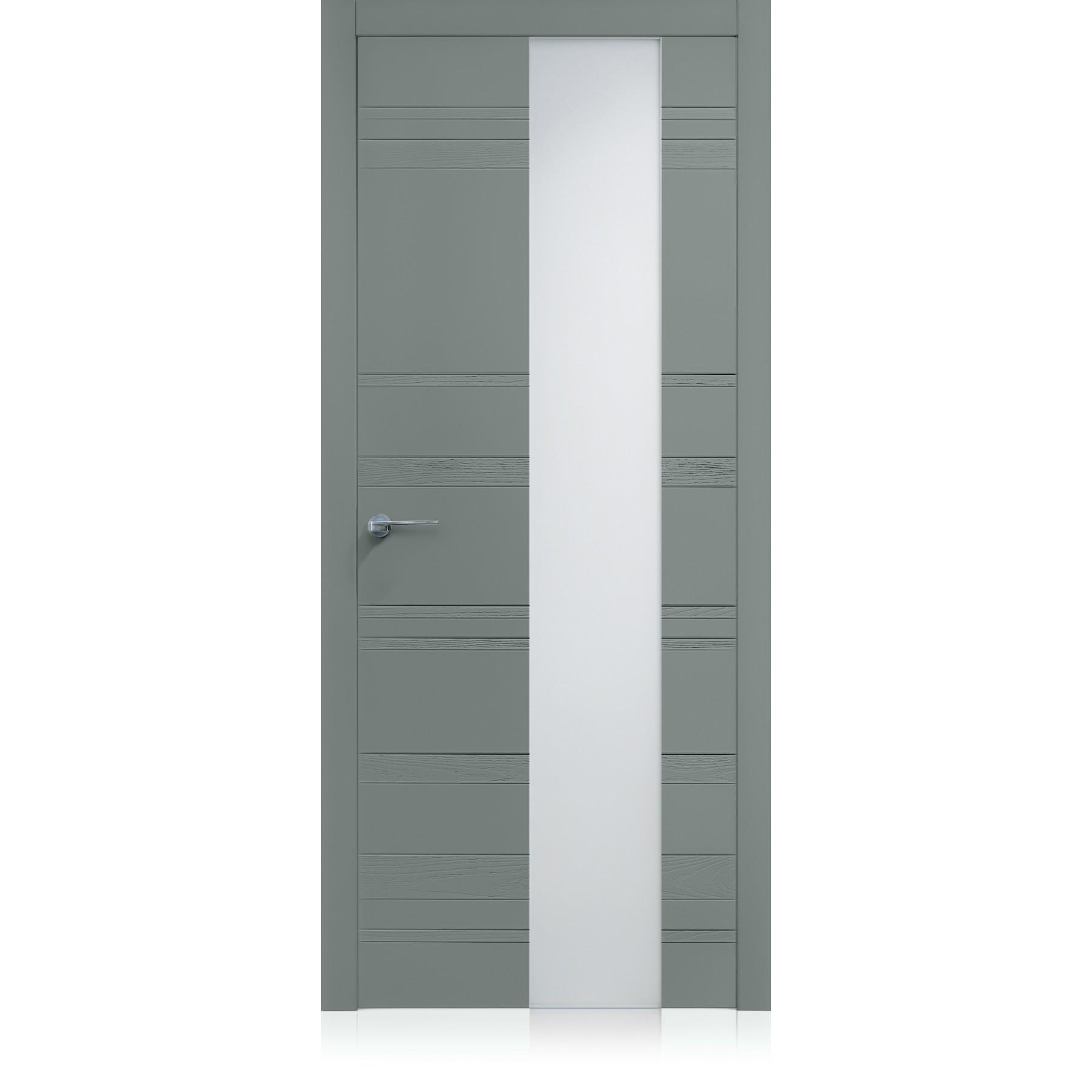 Porte Equa Styla Vetro Metallo Light Laccato ULTRAopaco