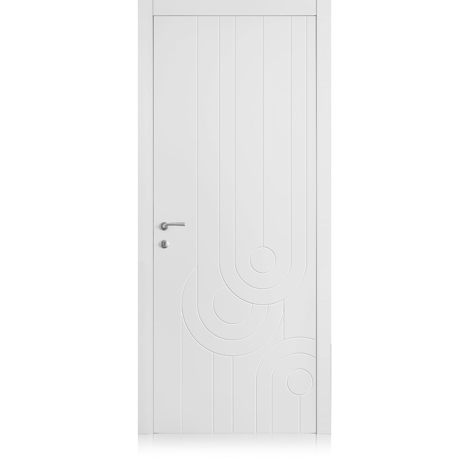 Porte Yncisa 70 Bianco Laccato ULTRAopaco