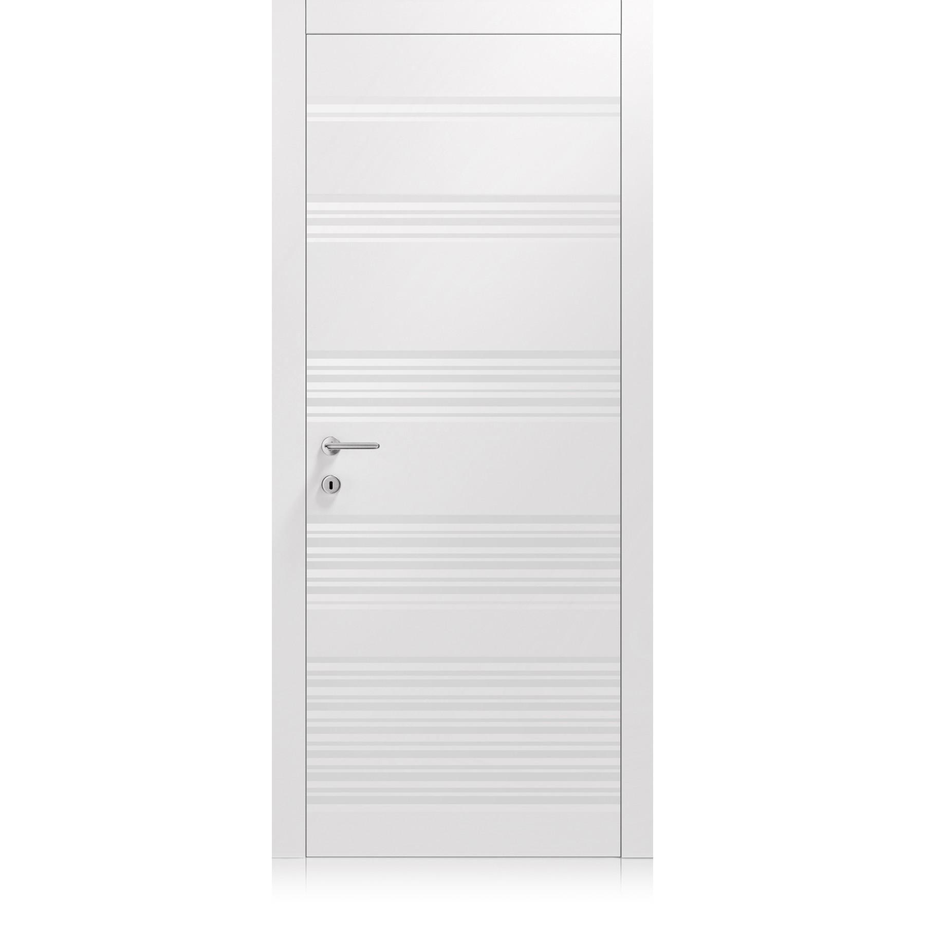 Porte Plissè Vario Bianco Optical Laccato ULTRAopaco