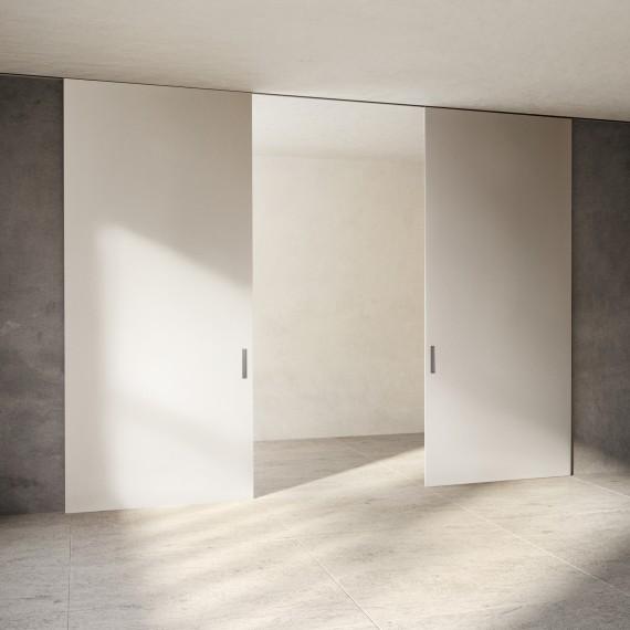 Scenario Lignum Exit bianco optical lucido