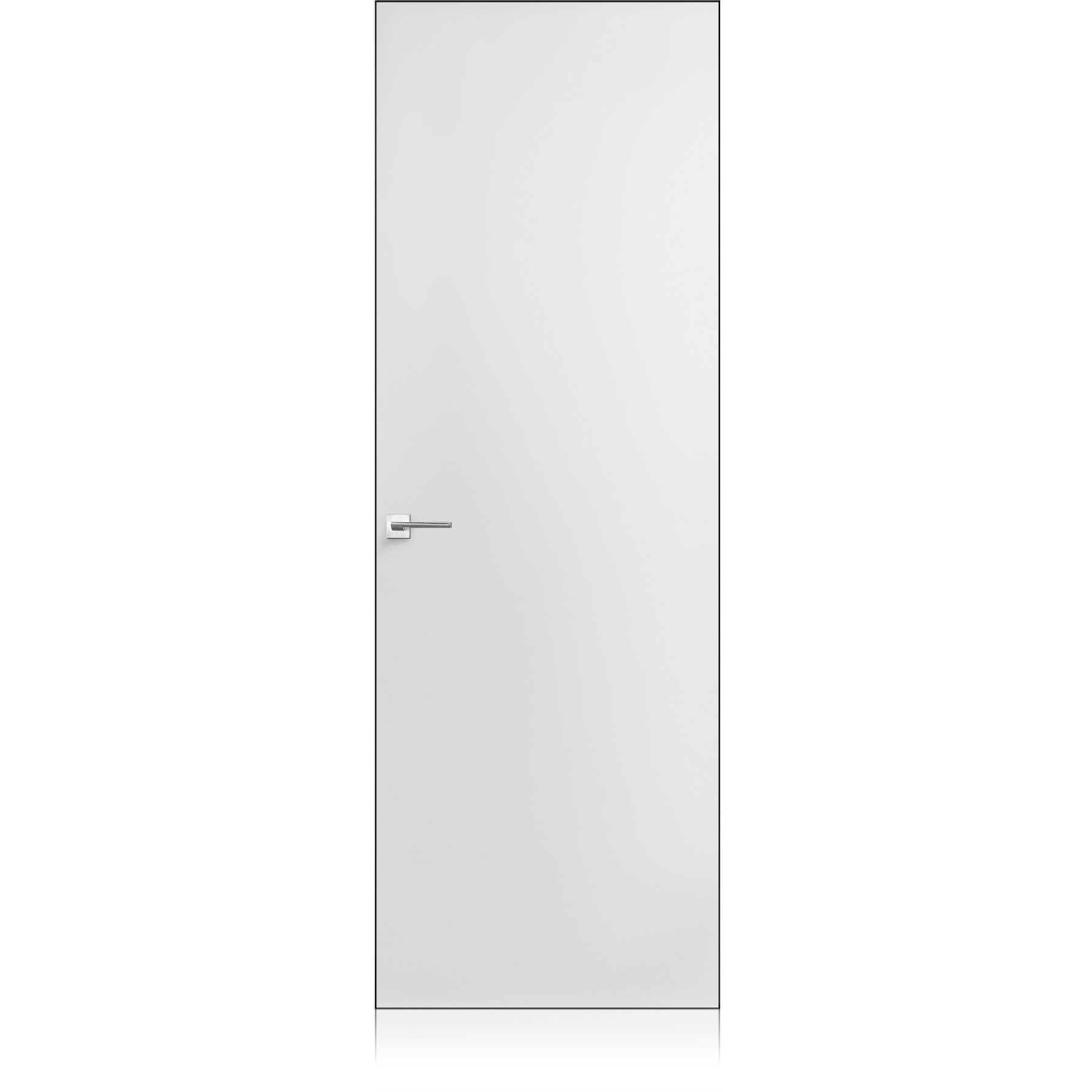 Exit Zero bianco optical lucido door