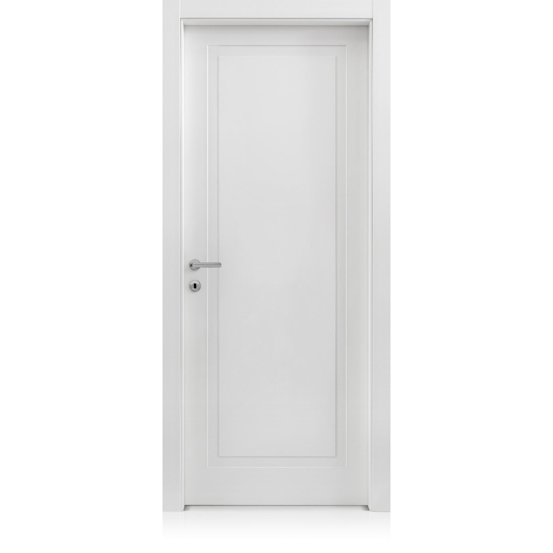 Porta Mixy / 1 Bianco Optical Laccato ULTRAopaco