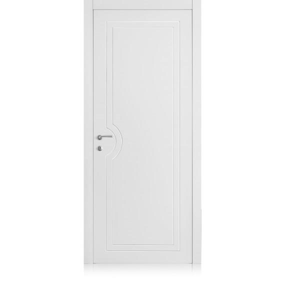 Porta Yncisa / 1 Bianco Optical Laccato ULTRAopaco