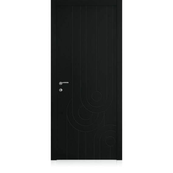 Porta Yncisa 70 Nero Profondo Laccato ULTRAopaco