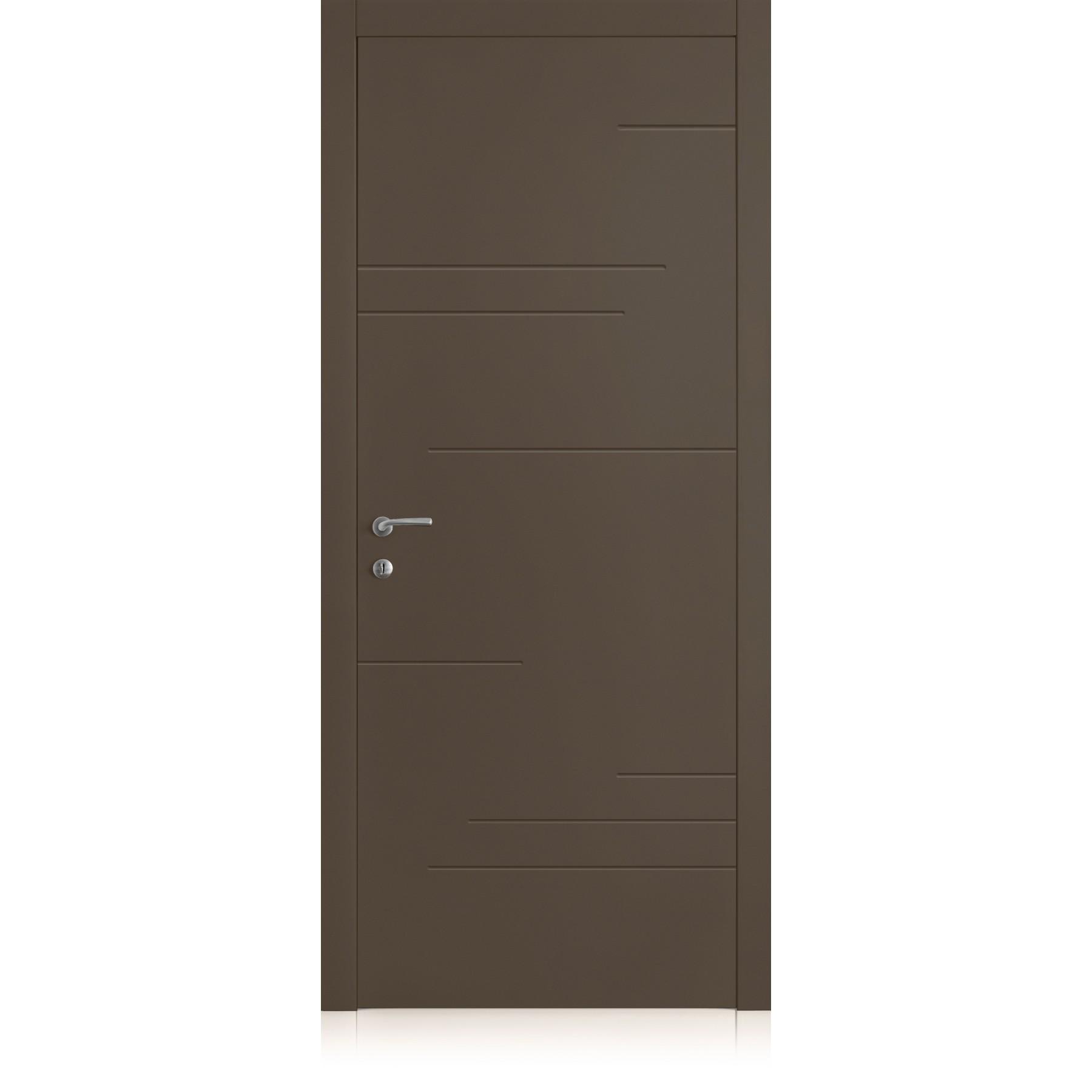 Porta Yncisa Segni Ombra Dark Laccato ULTRAopaco