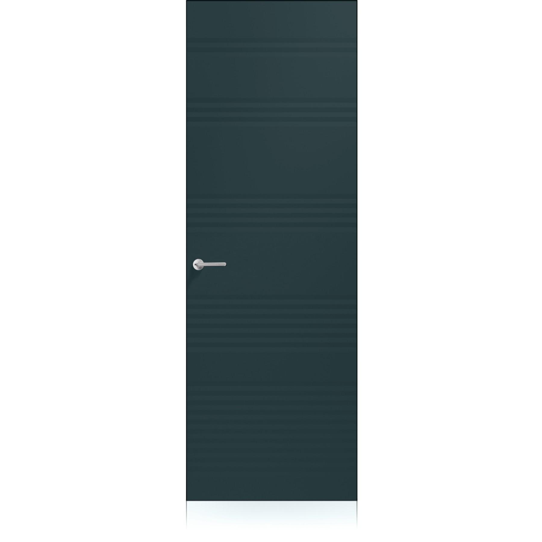 Porta Plissè Zero Metallo Dark Laccato ULTRAopaco