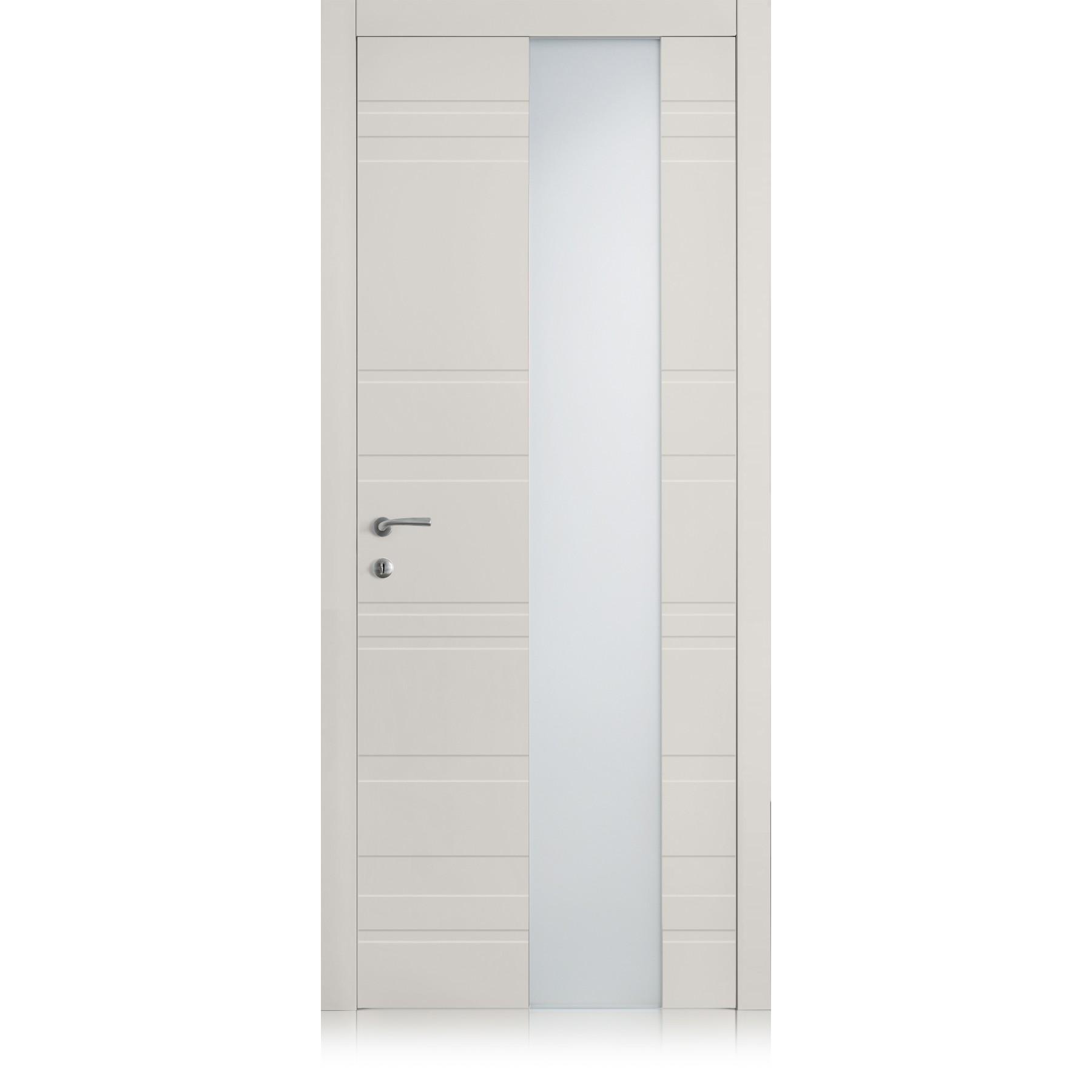 Yncisa Styla Vetro Grigio Lux Laccato ULTRAopaco door