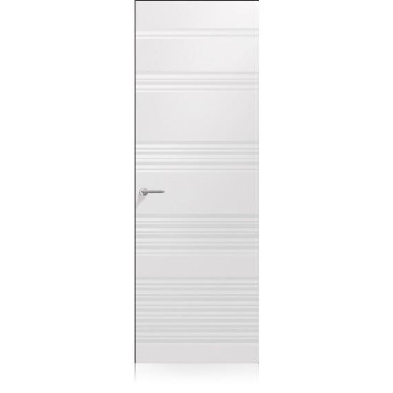 Porta Plissè Vario Zero Bianco Optical Laccato ULTRAopaco