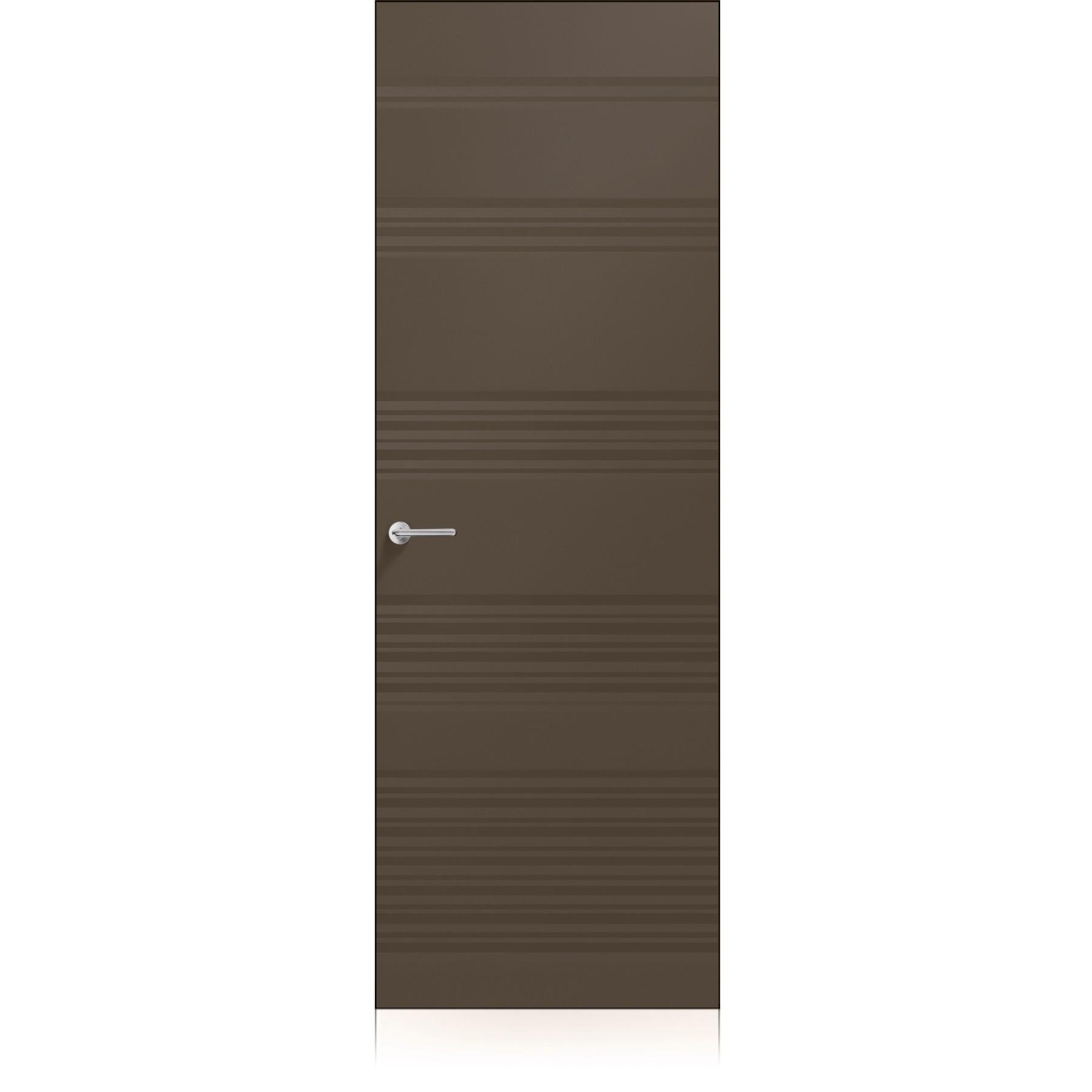 Porta Plissè Vario Zero Ombra Dark Laccato ULTRAopaco