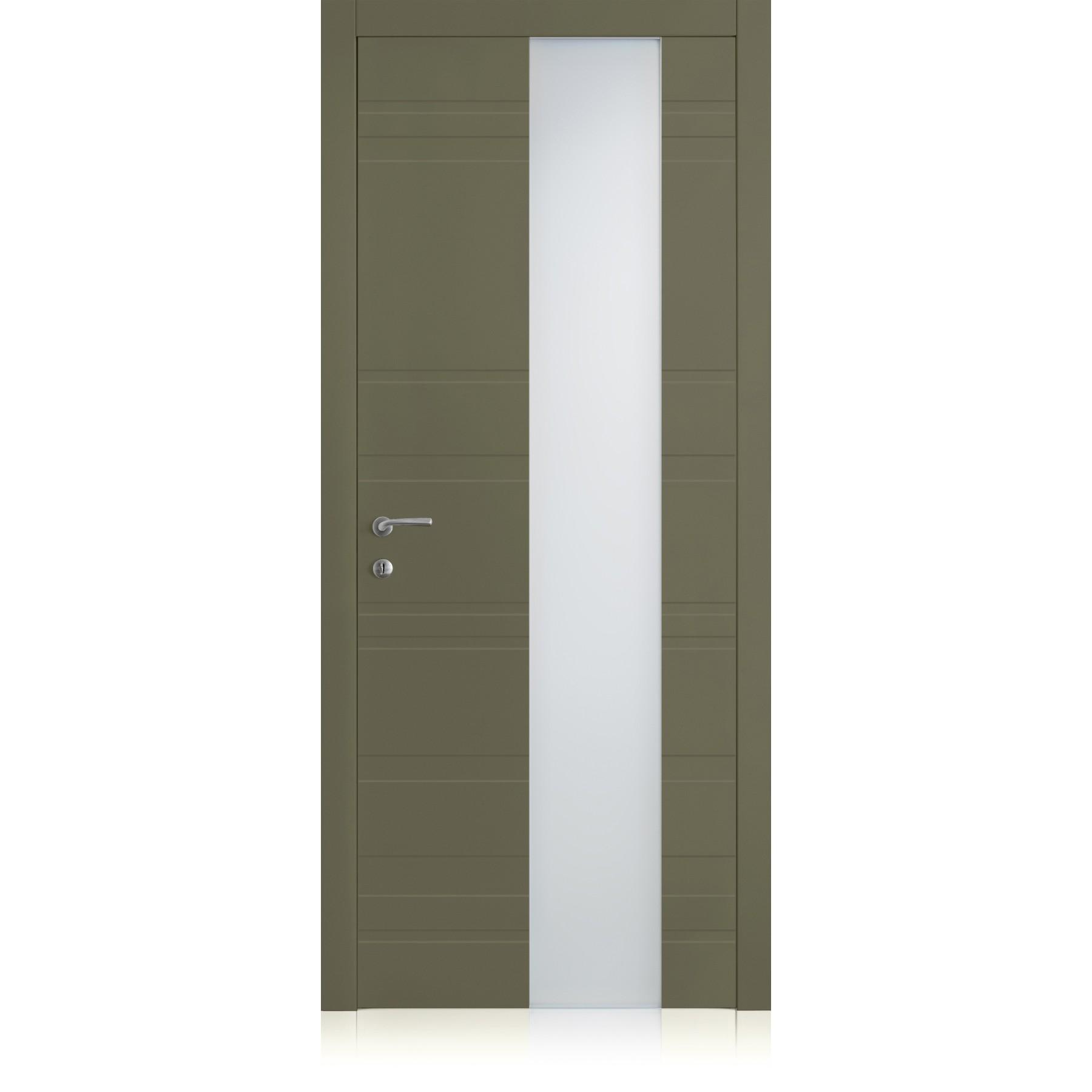 Yncisa Styla Vetro Oliva Light Laccato ULTRAopaco door