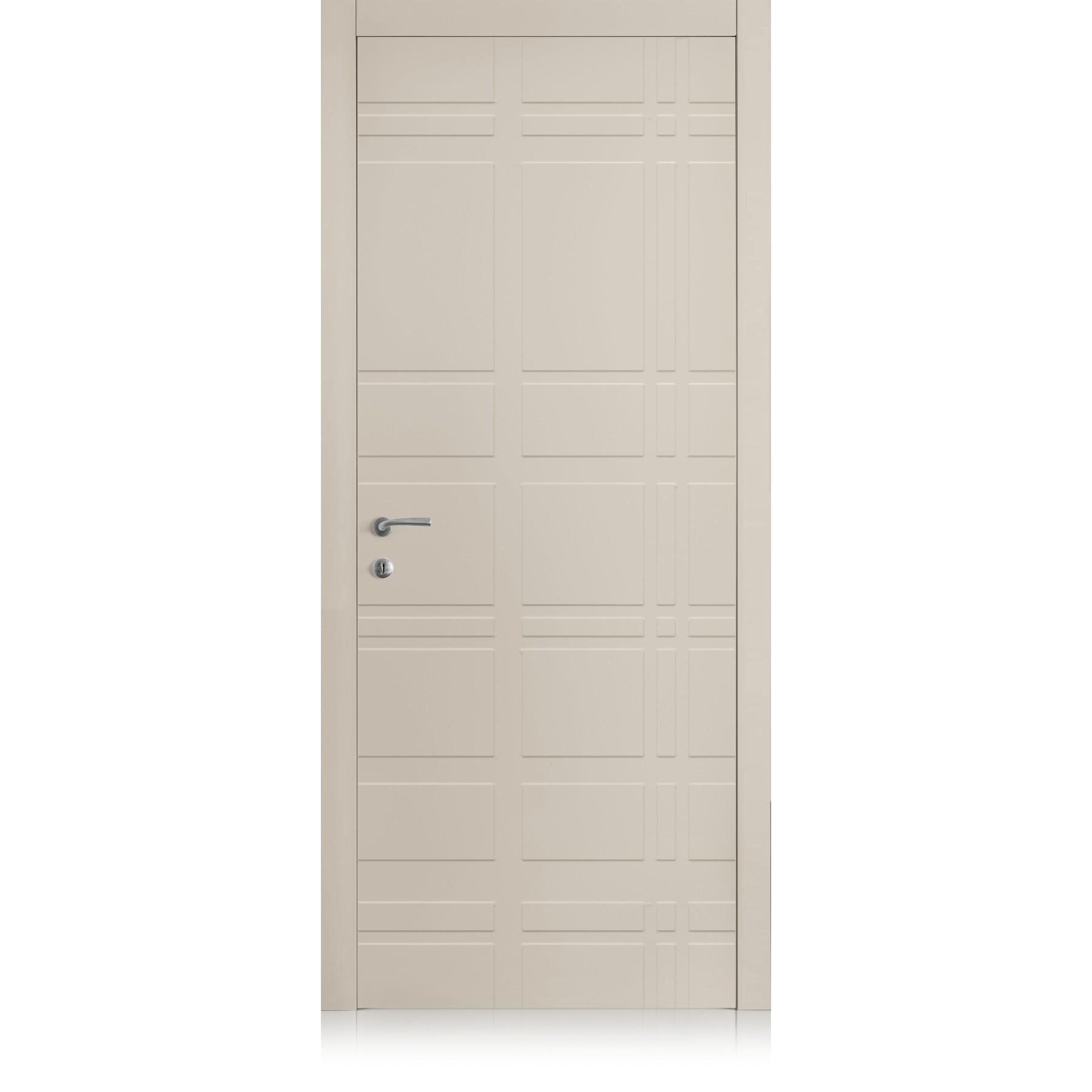 Yncisa Tartan Tortora Laccato ULTRAopaco door