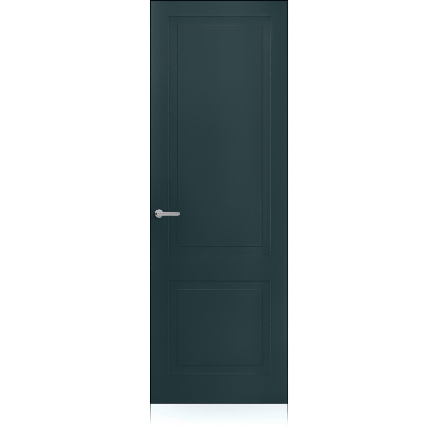 Porta Mixy / 2 Zero Metallo Dark Laccato ULTRAopaco
