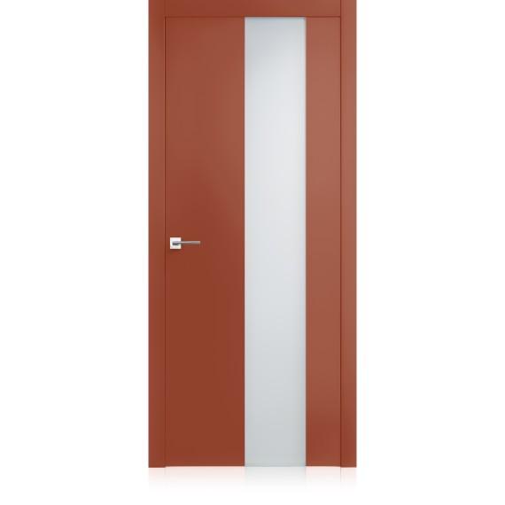 Porta Exit vetro Corallo Light Laccato ULTRAlucido