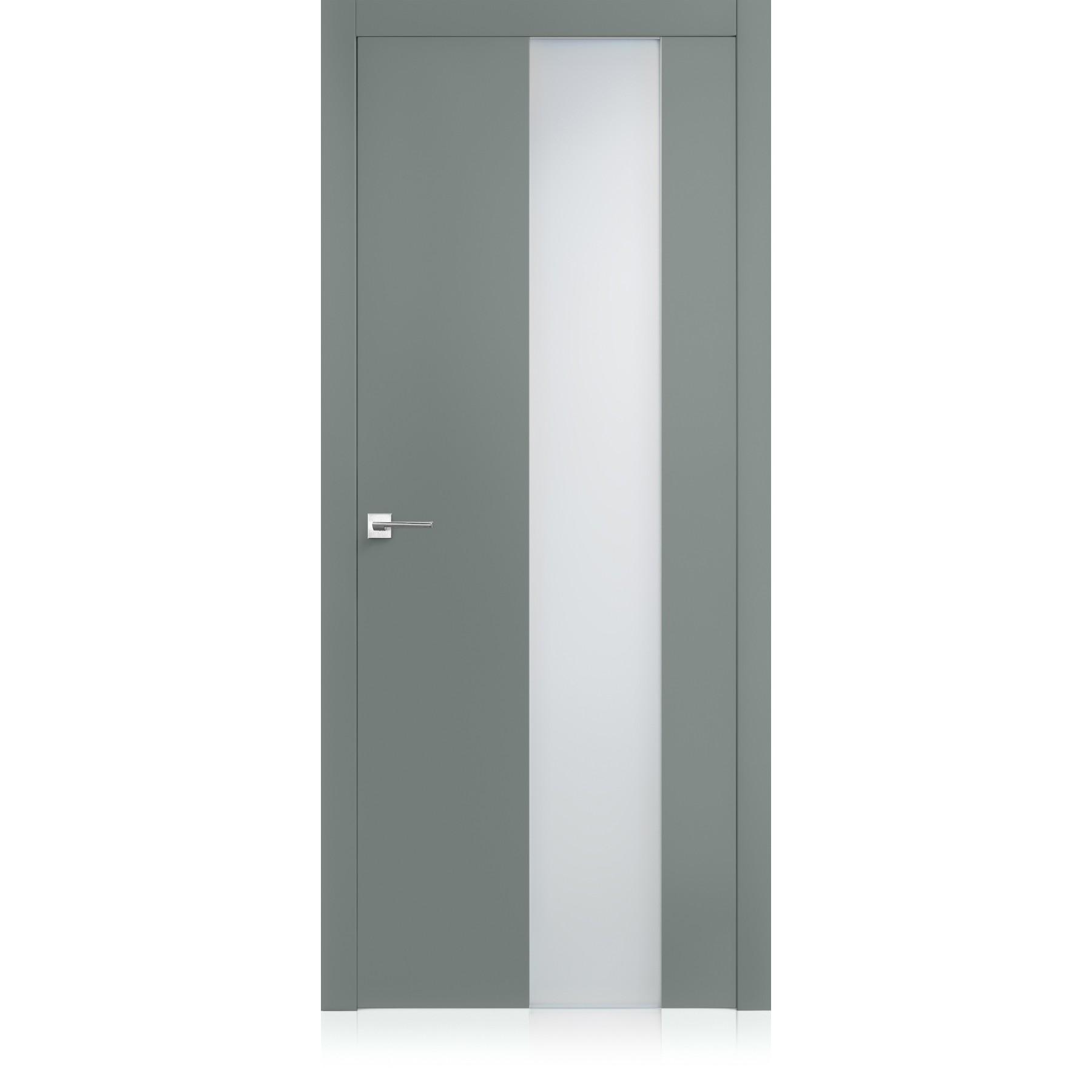 Porta Exit vetro Metallo Light Laccato ULTRAlucido