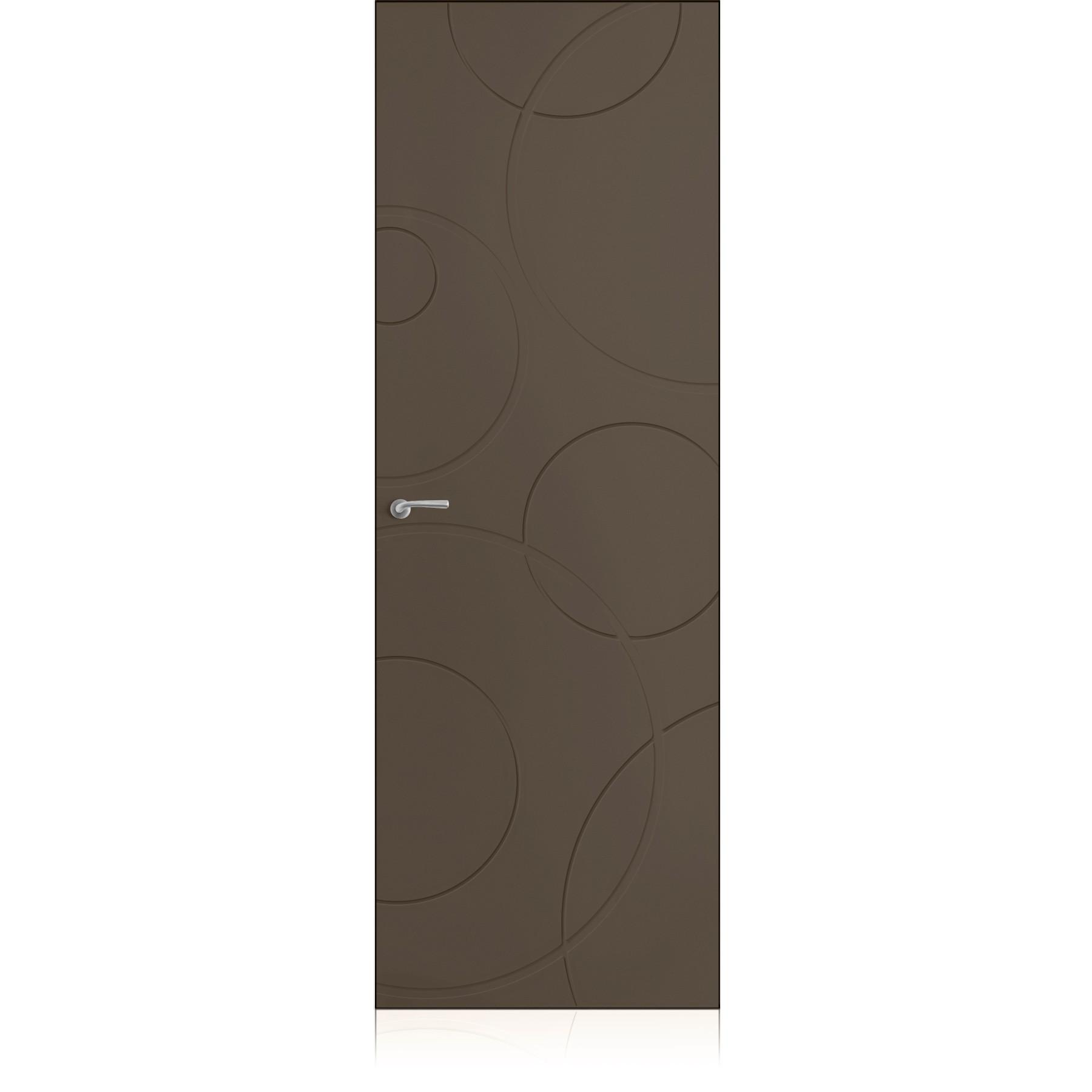 Porta Yncisa/0 Zero Ombra Dark Laccato ULTRAopaco