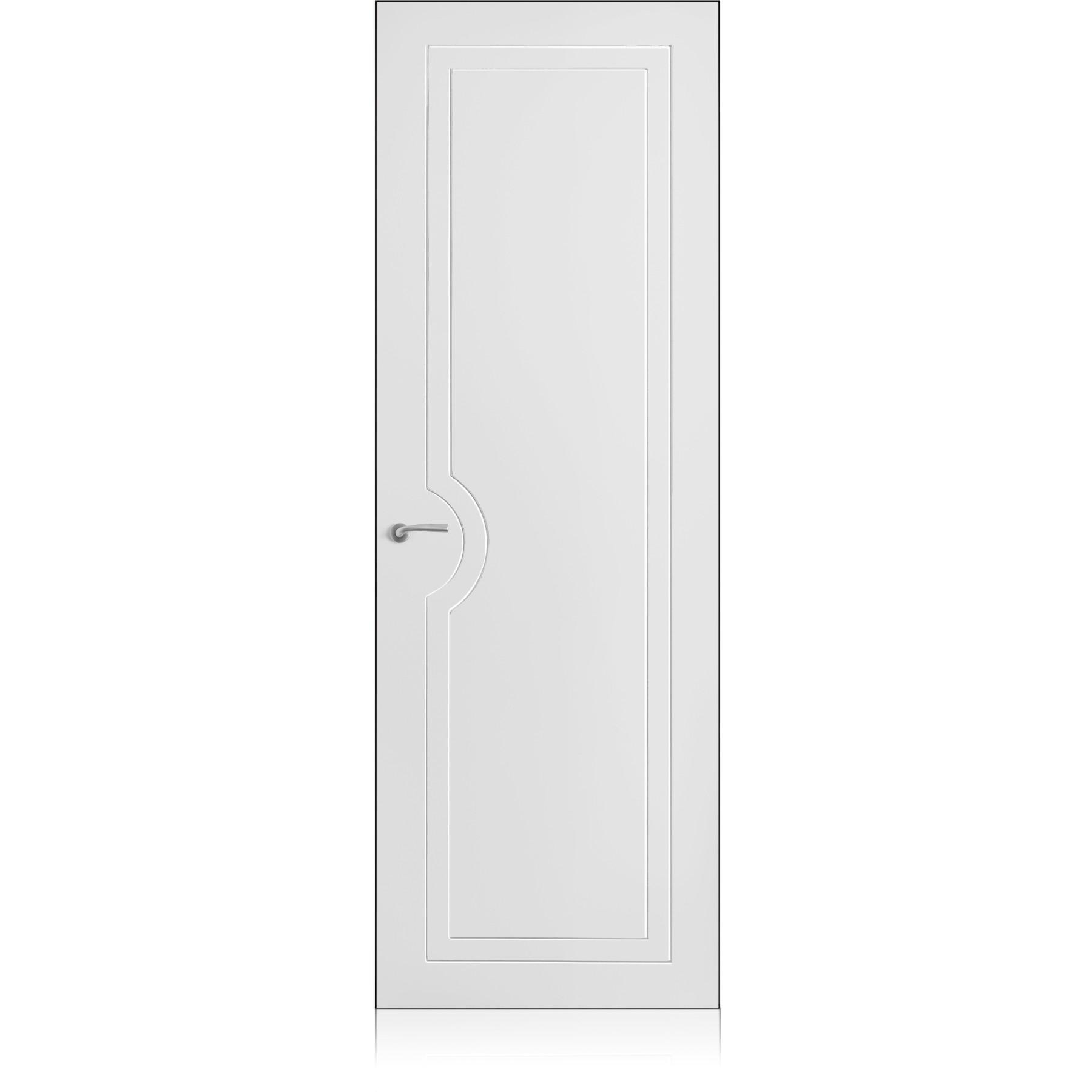 Yncisa/1 Zero Bianco Optical Laccato ULTRAopaco door