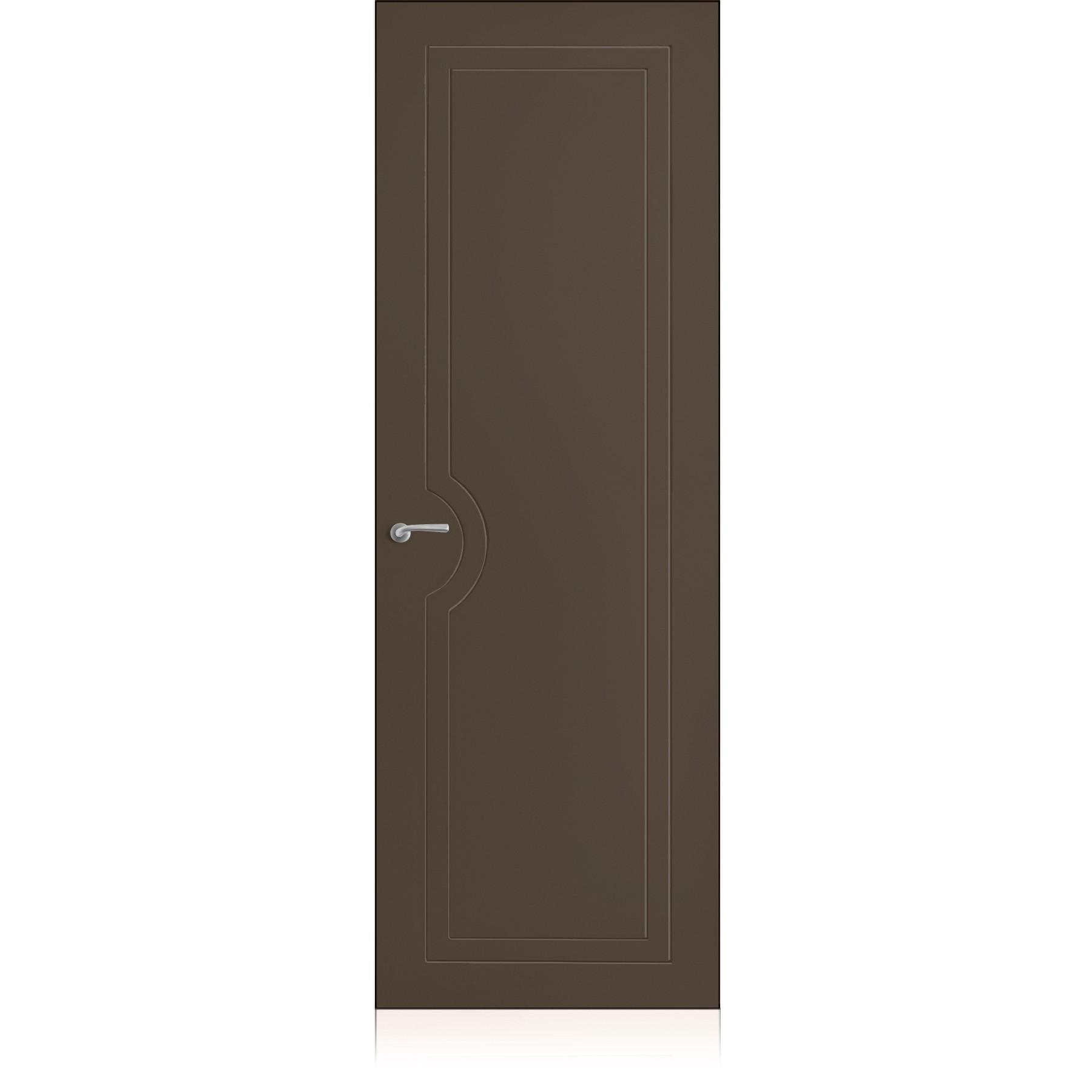 Yncisa/1 Zero Ombra Dark Laccato ULTRAopaco door