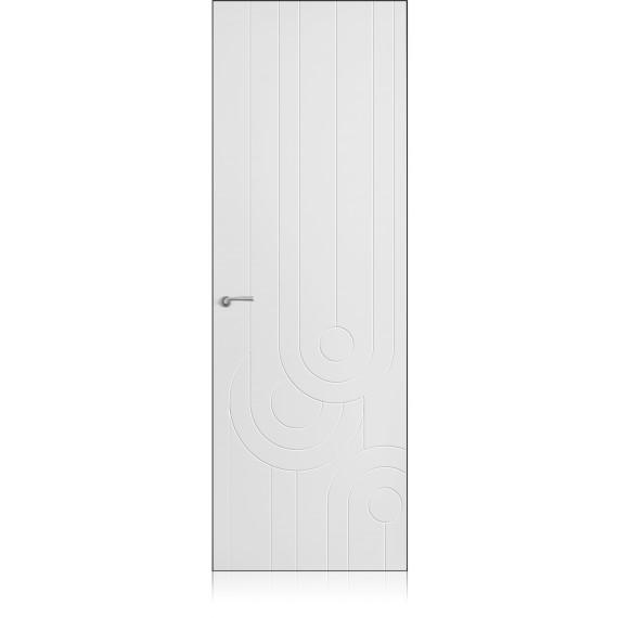 Porta Yncisa 70 Zero Bianco Optical Laccato ULTRAopaco