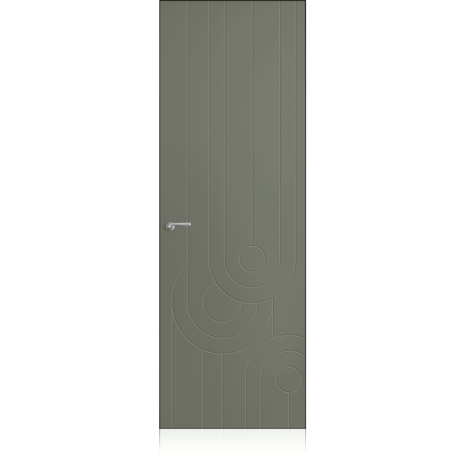 Porta Yncisa 70 Zero Lichene Pure Laccato ULTRAopaco