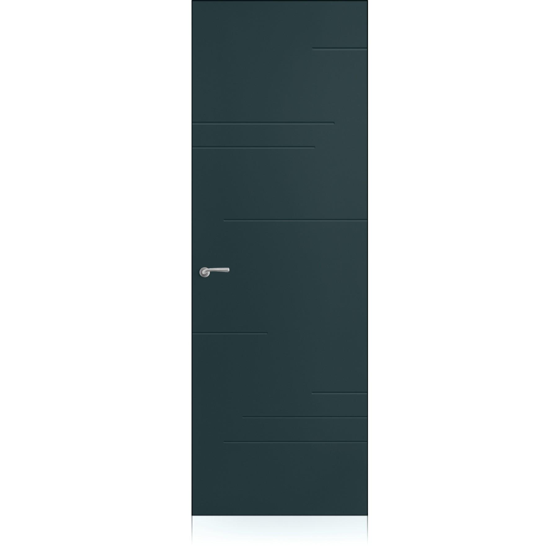 Porta Yncisa Segni Zero Metallo Dark Laccato ULTRAopaco