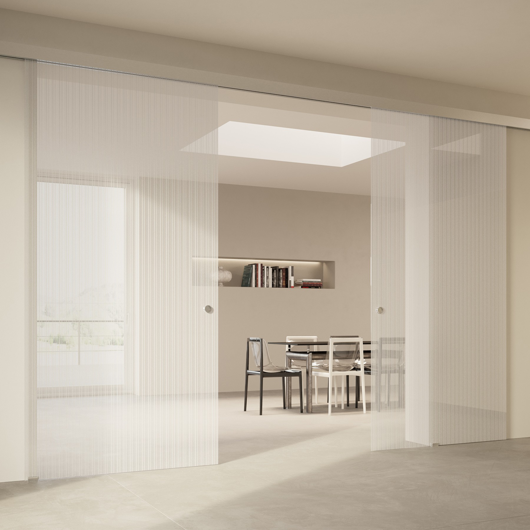 Scenario Visio with Strip transparent extraclear glass