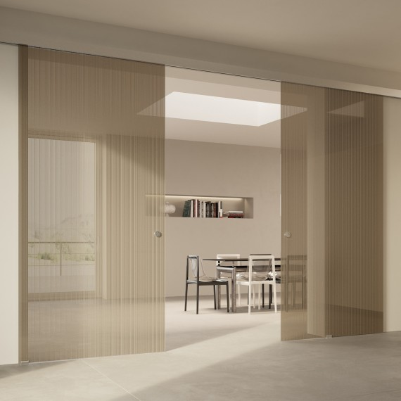 Scenario Visio with Strip transparent bronzo glass