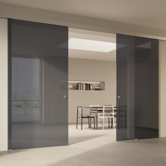 Scenario Visio with Strip transparent grigio glass