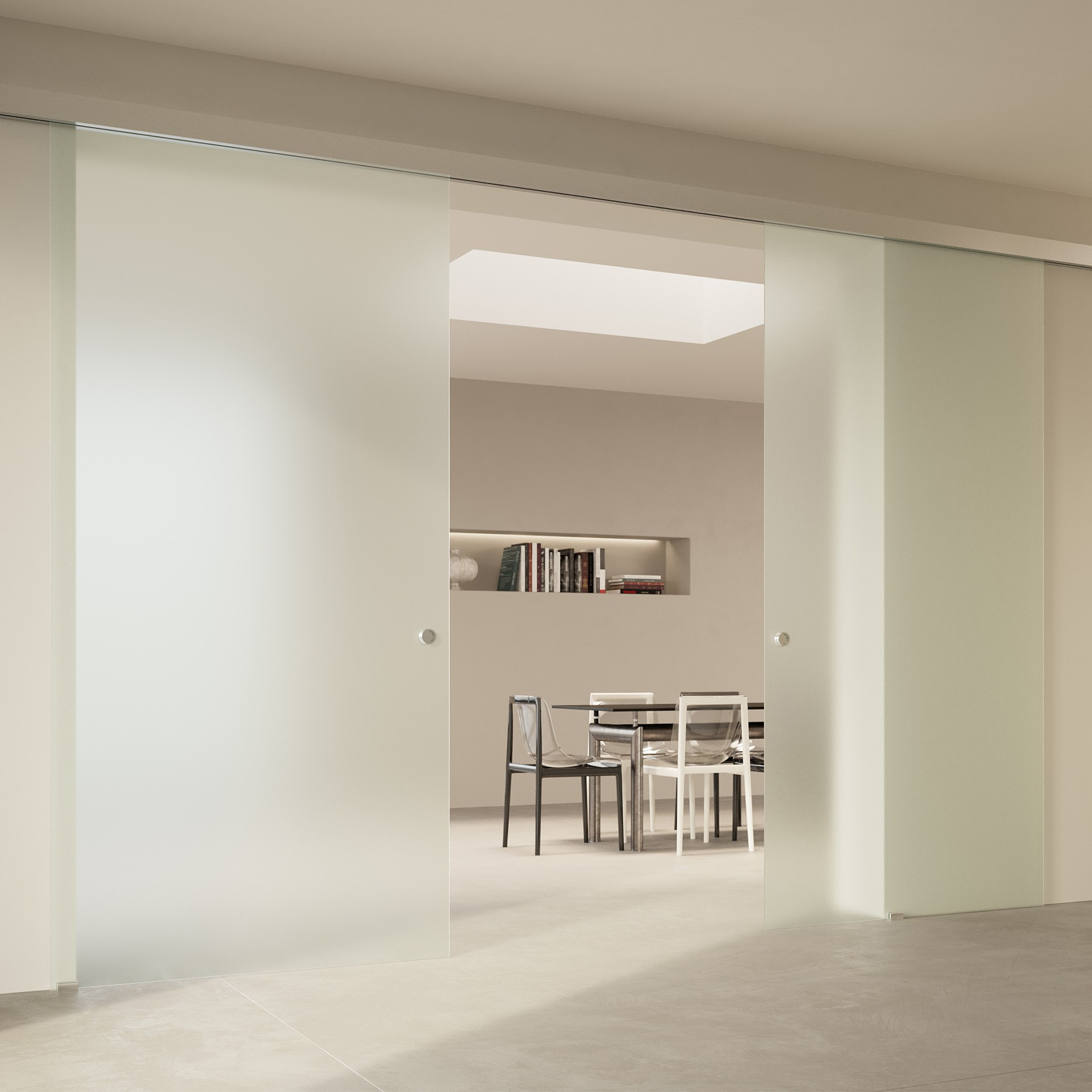 Scenario Visio with Frosted glass