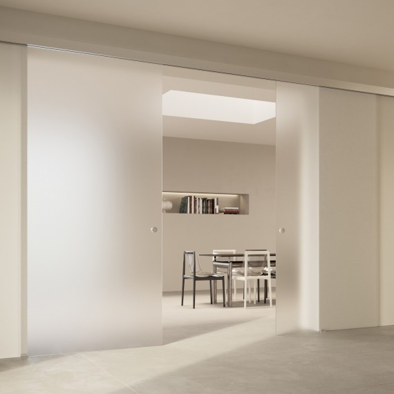 Scenario Visio with Frosted extraclear glass