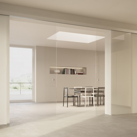 Scenario Visio with Transparent extraclear glass