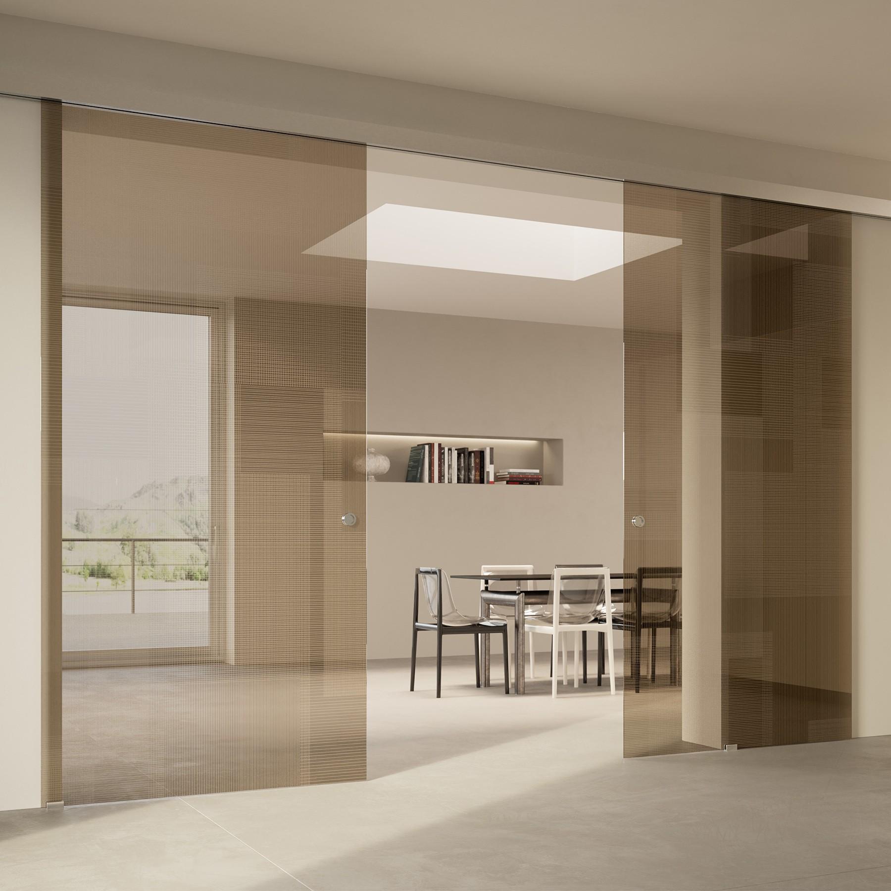 Scenario Visio with BIT 03 trasparente bronzo glass
