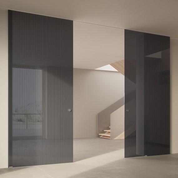 Scenario Visio Up with Strip transparent grigio glass