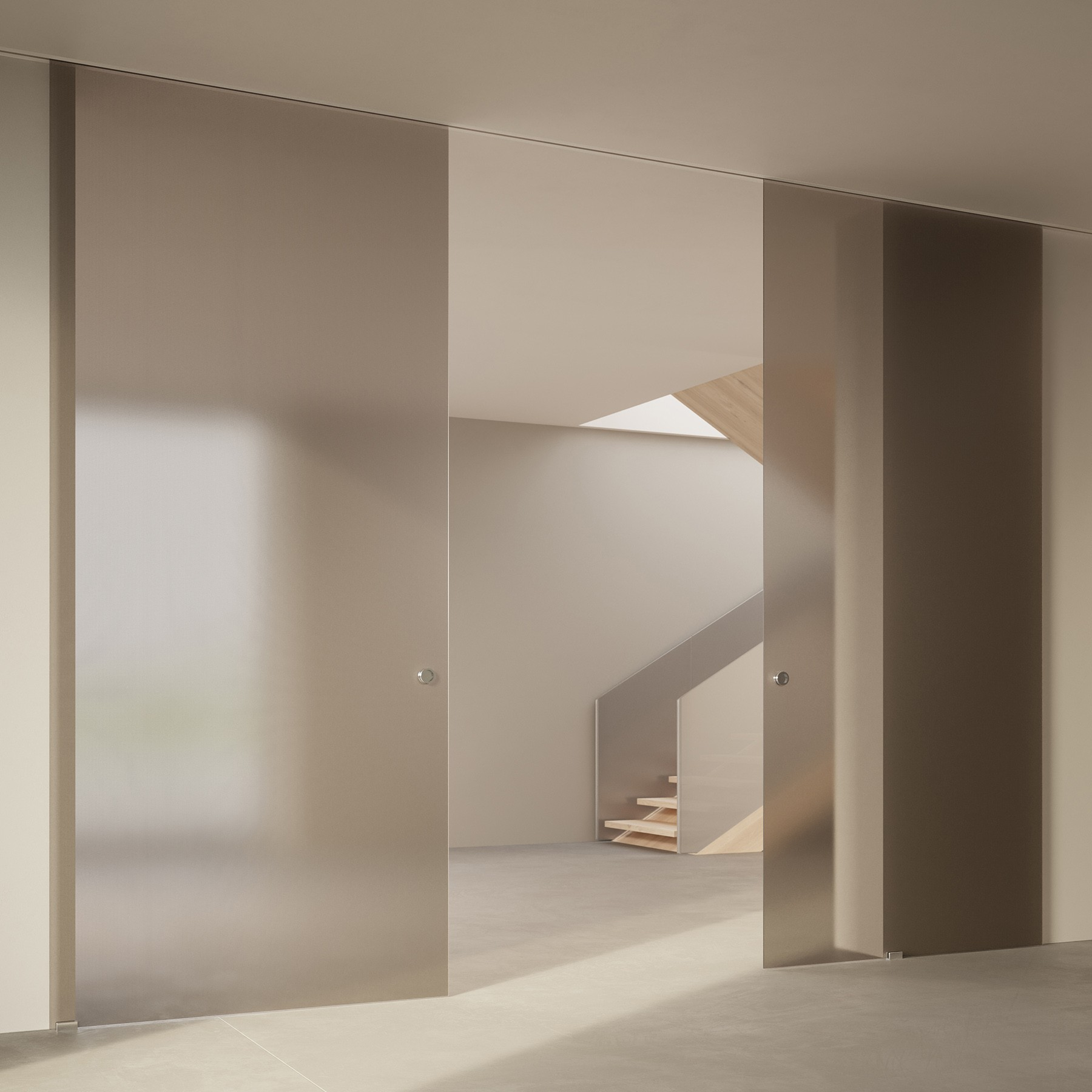 Scenario Visio Up with Point frosted bronzo glass
