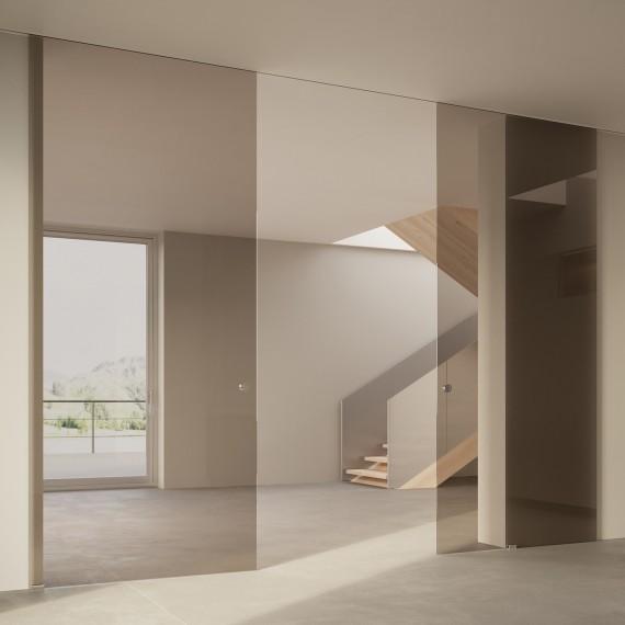 Scenario Visio Up with Transparent bronzo glass