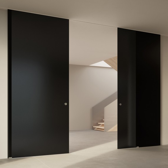 Scenario Visio Up with Frosted nero glass