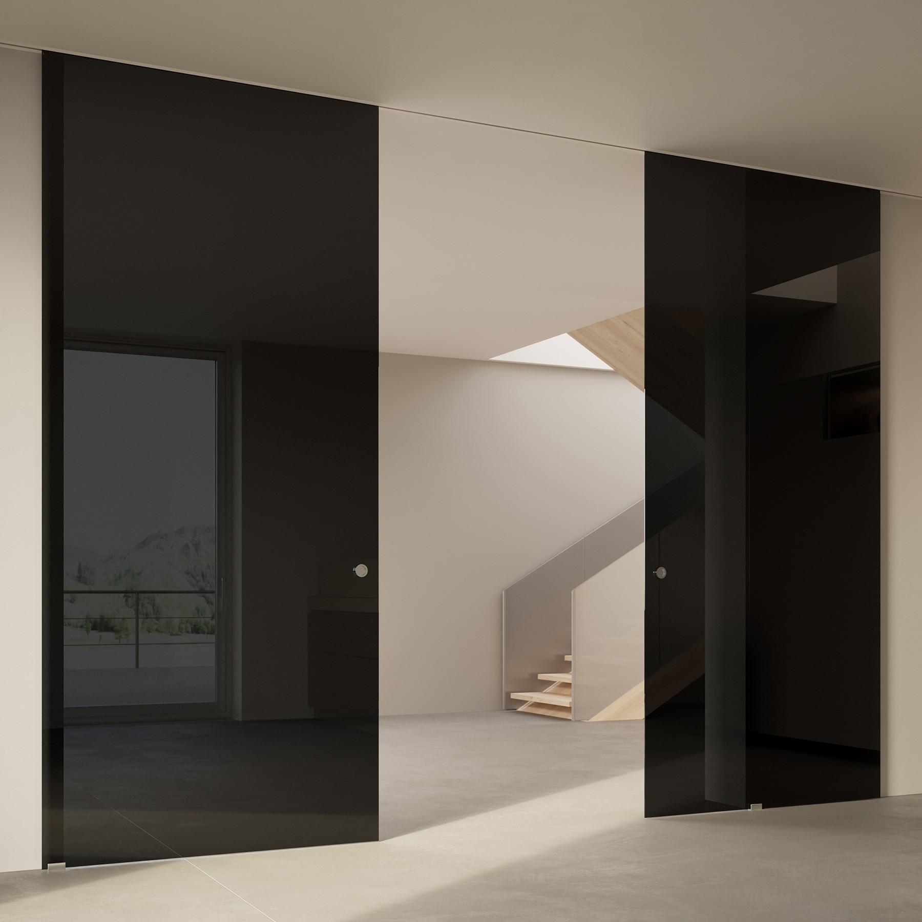Scenario Visio Up with Glossy nero glass