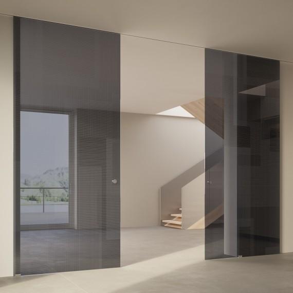 Scenario Visio Up with BIT 03 trasparente grigio glass