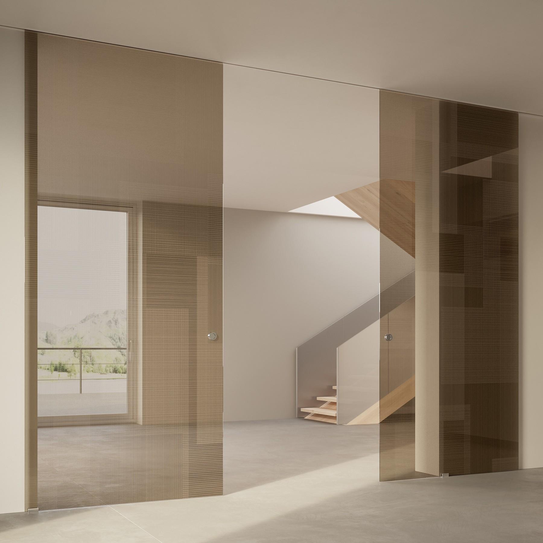 Scenario Visio Up with BIT 03 trasparente bronzo glass
